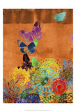 Butterfly Panorama Triptych II Posters by Sisa Jasper