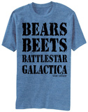The Office- Bears Beets Battlestar Galactica T-Shirt
