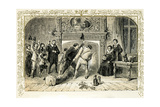 Ceremony for Christmas Eve by Birket Foster, 1872 Giclee Print by Myles Birket Foster
