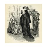 Alexandre Dumas 'The Three Musketeers' Giclee Print by John Gilbert