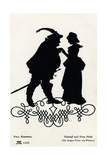 William Shakespeare's Play The Merry Wives of Windsor - Falstaff and Mistress Ford Giclee Print by Paul Konewka