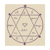 The Double Seal of Solomon Giclee Print by Arthur Edward Waite
