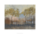 Ochre Treeline II Limited Edition by Jennifer Goldberger