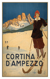 See Cortina d' Ampezzo Poster by  Studio W
