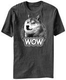 Doge- Wow Badge T-Shirt