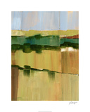 Pasture Abstract I Limited Edition by Ethan Harper