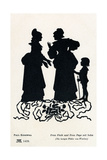 William Shakespeare's Play The Merry Wives of Windsor - Mistress Ford and Mistress Page with Son Giclee Print by Paul Konewka