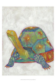 Turtle Friends II Prints by Chariklia Zarris