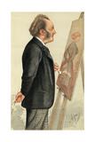 John Everett Millais - 13 May 1871 Giclee Print by Carlo Pellegrini