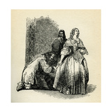Alexandre Dumas The Three Musketeers - Caption Reads: And I Keep My Word Giclee Print by John Gilbert
