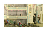 A Beggarly Account of Empty Boxes-Proteus Losing by His Benefit; No Jokes in Theatricals Giclee Print by Theodore Lane