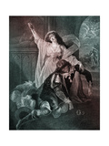 William Shakespeare - Scene from Play Romeo and Juliet Scene Giclee Print by Matthew William Peters