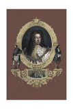 King George I, Portrait, after a Painting by Sir Godfrey Kneller Giclee Print by Godfrey Kneller