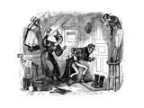 Charles Dickenss  the Old Curiosity Shop Giclee Print by Hablot Knight Browne