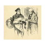 a Christmas Carol by Charles Dickens Giclee Print by Harold Copping