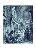 Métrope - Play by Voltaire Giclee Print by Gabriel De Saint-aubin
