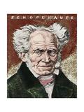 Arthur Schopenhauer Drawn by Emil Orlik in 1920 Giclee Print by Emil Orlik