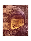 New York Theatre Interior 1882 Giclee Print by Charles Graham