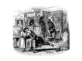 Charles Dickenss The Old Curiosity Shop Giclee Print by George Cattermole