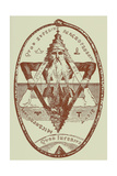 The Great Symbol of Solomon- from Illustration by Eliphas Lévi Giclee Print by Eliphas Levi