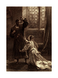 Othello (Act IV Scene 2) Play by William Shakespeare Giclee Print by Frank Dicksee