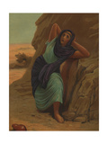 Hagar- Egyptian Handmaiden of Sarai (The First Wife of Abram / Abraham) and Mother to Abram's Son Giclee Print by Philip Richard Morris
