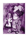 Alice in Wonderland - with the Duchess Giclee Print by John Tenniel