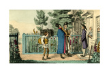Proteus in Search of Lodgings-Peregrine Displays Too Much Spirit for Ephraim Smooth Giclee Print by Theodore Lane