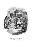 A Christmas Carol (1843) by Charles Dickens Giclee Print by John Leech