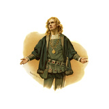 Hamlet, Prince of Denmark by William Shakespeare Giclee Print by Harold Copping