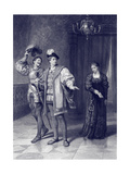 Alls Well That Ends Well (Act II Scene 5), Play by William Shakespeare Giclee Print by Frank Dicksee