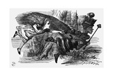 Lewis Carrolls Book Through the Looking-Glass and What Alice Found There Giclee Print by John Tenniel