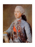 Emperor Joseph / Josef Ii, Holy Roman Emperor and King of Bohemia and Hungary Giclee Print by Jean-Etienne Liotard
