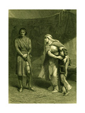 King John (Act III Scene 1), Play by William Shakespeare Giclee Print by Frank Dicksee