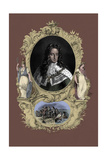 King William Iii, Portrait, 4 November 1650 – 8 March 1702 Giclee Print by Godfrey Kneller