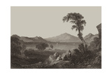 Gulf of Salamis, Greece Giclee Print by William Purser