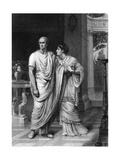 Julius Caesar (Act II Scene 2), Play by William Shakespeare Giclee Print by Frank Dicksee