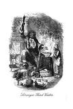 A Christmas Carol (1843) by Charles Dickens, 7 February 1812 – 9 June 1870 Giclee Print by John Leech
