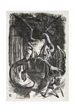 Jabberwocky Giclee Print by John Tenniel