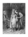 Henry V (Act V Scene 2), Play by William Shakespeare Giclee Print by Frank Dicksee