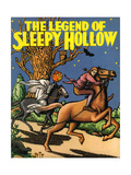 The Legend of Sleepy Hollow by Washington Irving Giclee Print by Frances Brundage