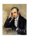 William Wordsworth: English Romantic Poet, 7 April 1770 – 23 April 1850 Giclee Print by Robert Hancock