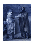 Macbeth (Act I, Scene 5) Play by William Shakespeare Giclee Print by Rudolf Eichstaedt