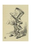 The Mad Hatter, Lewis Carrolls (1832-1898) Book Alices Adventures in Wonderland Giclee Print by John Tenniel
