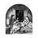 The Light of the Haram, Illustration from the Book Lalla Rookh by Thomas Moore Giclee Print by John Tenniel