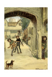 The Merry Wives of Windsor by William Shakespeare Giclee Print by Hugh Thomson