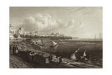 View of Cadiz, Spain Giclee Print by Robert Batty
