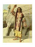 Jonah Preaching in Nineveh Giclee Print by Philip Richard Morris
