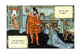 Bluebeard Written and Illustrated by Walter Crane and Published in 1914 Giclee Print by Walter Crane