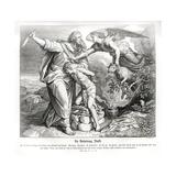 The Sacrifice of Isaac Giclee Print by Julius Schnorr von Carolsfeld